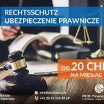 Rechtsschutz - ubezpieczenie prawne w Szwajcarii.